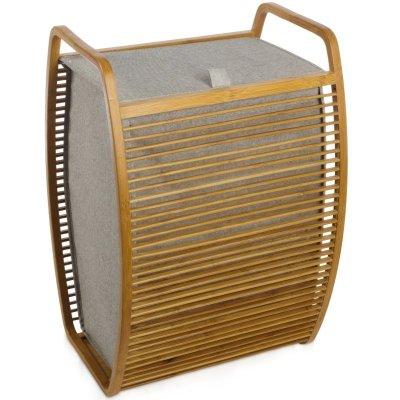 Kosz na pranie Möve - Bambus + Canvas