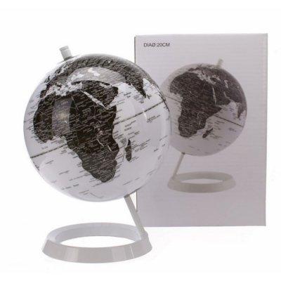 Globus - White - średnica 20 cm