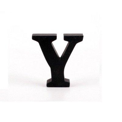 Litera ozdobna mała - Y - czarna