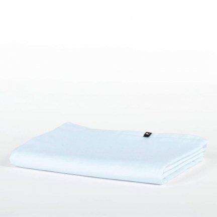 Prześcieradło bawełniane HOP DESIGN PURE - niebieskie