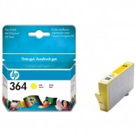 HP oryginalny ink CB320EE, No.364, yellow, 300s, HP Photosmart B8550, C5380, D5460