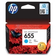 HP oryginalny ink CZ110AE#302, No.655, cyan, 600s, blistr, HP Deskjet Ink Advantage 3525, 5525, 6525, 4615 e-AiO