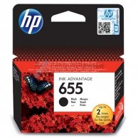 HP oryginalny ink CZ109AE#302, No.655, black, 550s, blistr, HP Deskjet Ink Advantage 3525, 5525, 6525, 4615 e-AiO