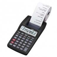 Kalkulator Casio, HR 8TEC, czarna, Przenośny kalkulator drukujący, dwunasto pozycyjny