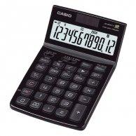 Casio Kalkulator JW 200 SC BK, czarny, 12 miejsc, uchylny wyświetlacz, podwójne zasilanie