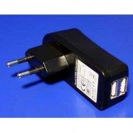 USB ładowarka, 220V (el.síť), 5V, 2000mA, do ładowania telefonów komórkowych i GPS, No Name
