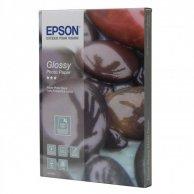Epson Glossy Photo Paper, foto papier, połysk, biały, 13x18cm, 5x7, 225 g/m2, 50 szt., C13S042048, atrament,uniwersalny papier ph