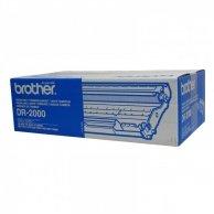 Brother oryginalny bęben DR2000, black, 12000s, Brother HL-20x0, MFC-7420