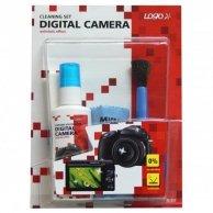 Środki czyszczące zestaw, do cyfrowego aparatu fotograficznego i kamery, spray 50ml, mikrościereczka, 5,    balonik do dmuchania