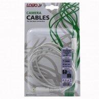 USB kabel (2.0), A-4pin, M/M, 1.8m, Logo, blistr, FUJI