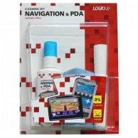 Środki czyszczące zestaw, do nawigacji i PDA, spray 50ml, mikrościereczka, 5, LOGO