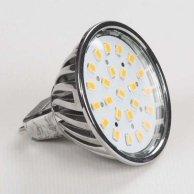LED żarówka Inoxled MR16, 12V, 4.5W, 400lm, ciepła biel, 60000h, POWER, 24SMD, 2835