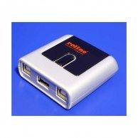 USB (2.0) przełącznik, 2:1, 2x B socket/1x A socket,automatyczny
