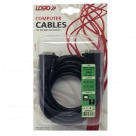 Video Kabel Dual link, DVI(24+1)-DVI(24+1), M/M3m, chroniony, Logo, blistr