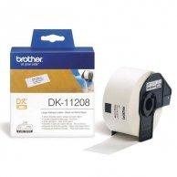 Brother etykiety papierowe 38mm x 90mm, biała, 400 szt., DK11208, do drukarek typu QL