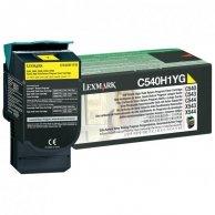 Lexmark oryginalny toner C540H1YG, yellow, 2000s, return, high capacity, Lexmark C540, X543, X544, X543, X544