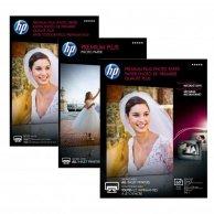 HP Premium Plus Glossy Pho, foto papier, połysk, biały, 10x15cm, 4x6, 300 g/m2, 25 szt., CR677A, atrament,bez marginesu