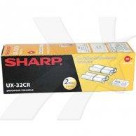 Sharp oryginalny folia do faxu UX32CR, 2*100str., Sharp UX P710, A760