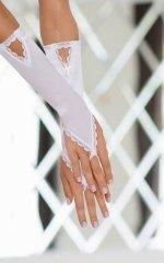 Gloves 7710 - white rękawiczki