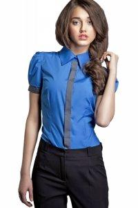 Koszula - niebieski - K33