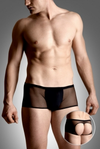 Mens shorts 4493 - black szorty open
