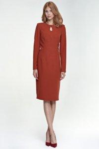 Sukienka Erin - rudy - S79