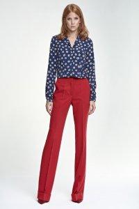 Spodnie z mankietem - czerwony - SD26