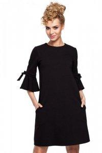 M286 Sukienka czarna