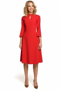 M324 Sukienka czerwona