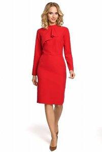 M325 Sukienka czerwona