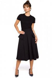 B046 spódnica czarna