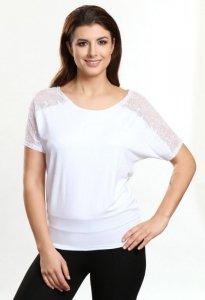 Claudia biały bluzka