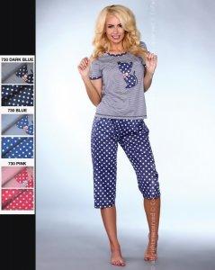 MODEL 730 piżama groszki
