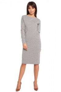 B006 sukienka szara