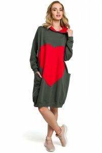 M387 Sukienka - khaki