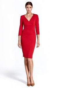 Sukienka cs26 - czerwony - CS26