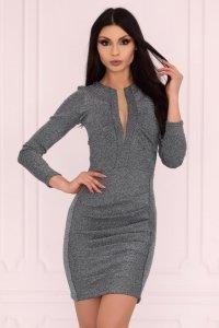 Aporva Dark Silver sukienka