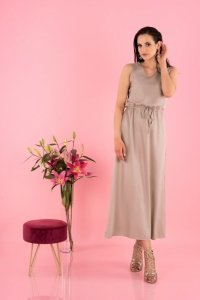 Anara Mocca D144 sukienka