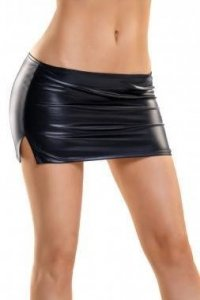 Glossy Shiny Wetlook skirt CAMREN