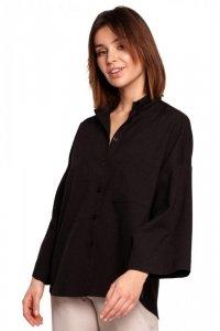 B191 Koszula oversize - czarna