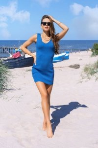 Rosimna Blue sukienka