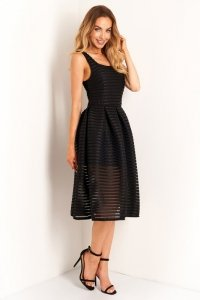 Sukienka L398 czarny