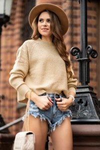 Moranis Light Beige sweter