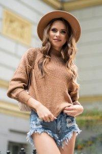 Moranis Camel sweter