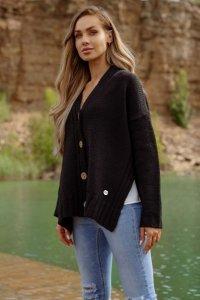 Sweter LS344 czarny