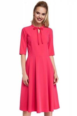 M298 Sukienka różowa