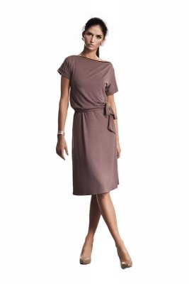 Sukienka - mocca - S13