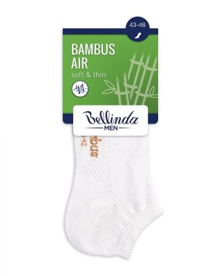 BE497554 Bambus Air In-Shoe skarpety stopki