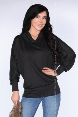 CG028 Black bluzka