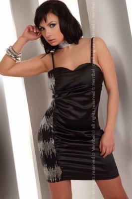 Hathor sukienka mała czarna
